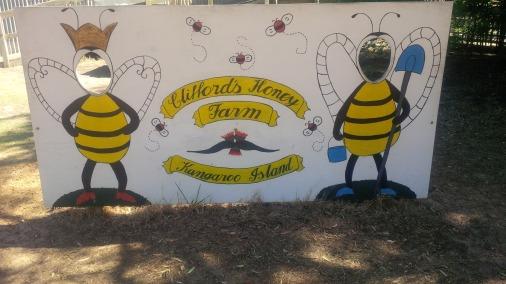 Honey farm, yummy for your tummy.