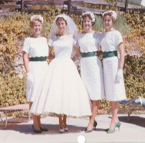 Aunt Diana wedding day