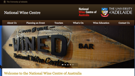 National Wine Center of http://www.wineaustralia.com.au/ Australia