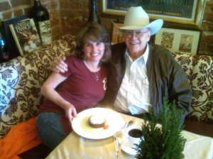 My last birthday lunch with George.